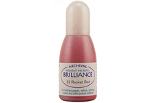 Brilliance Rocket Red Pearlescent Refill Ink