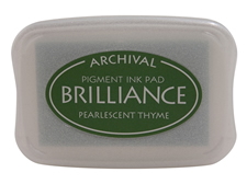 Brilliance Pearlescent Thyme Ink Pad
