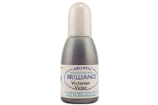 Brilliance Victorian Violet Pearlescent Refill Ink