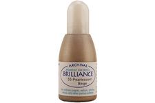 Brilliance Beige Pearlescent Refill Ink