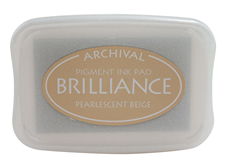 Brilliance Beige Pearlescent Ink Pad