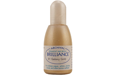 Brilliance Galaxy Gold Pearlescent Refill Ink