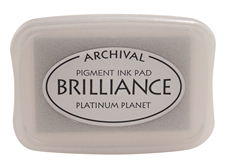 Brilliance Platinum Planet Pearlescent Ink Pad