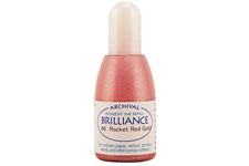 Brilliance Rocket Red Gold Pearlescent Refill Ink