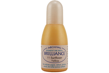 Brilliance Sunflower Yellow Pearlescent Refill Ink