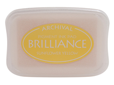 Brilliance Sunflower Yellow Pearlescent Ink Pad