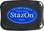 StazOn Blue Ink - Stamp pad