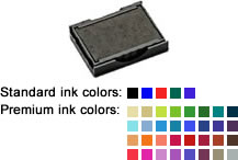 Buy a replacement ink pad for a Trodat model 4913 or 4953 self-inking rubber stamp.  Available in black, blue, red, green, or violet.