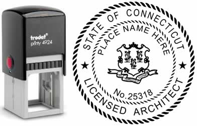 Connecticut Architect Stamp | Order a Connecticut Registered Architect Stamp Online
