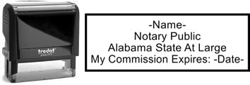 Alabama Notary Stamp | Order an Alabama Notary Public Stamp Online