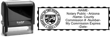 Arizona Notary Stamp | Order an Arizona Notary Public Stamp
