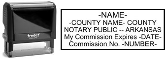 Arkansas Notary Stamp | Order an Arkansas Notary Public Stamp
