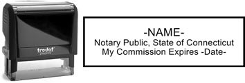 Connecticut Notary Stamp | Order a Connecticut Notary Public Stamp