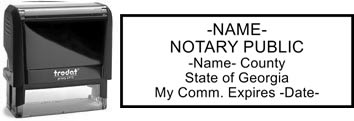 Georgia Notary Stamp | Order a Georgia Notary Public Stamp