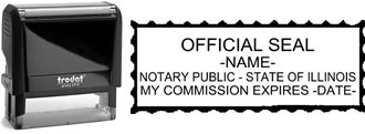 Illinois Notary Stamp | Order an Illinois Notary Public Stamp