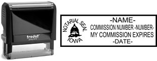 Iowa Notary Stamp | Order an Iowa Notary Public Stamp