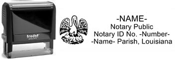 Louisiana Notary Stamp | Order a Louisiana Notary Public Stamp Online