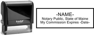 Maine Notary Stamp | Order a Maine Notary Public Stamp