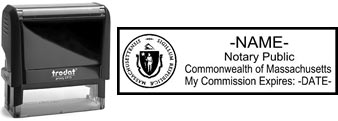 Massachusetts Notary Stamp | Order a Massachusetts Notary Public Stamp