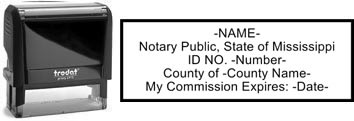 Mississippi Notary Stamp | Order a Mississippi Notary Public Stamp Online