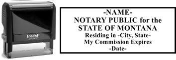 Montana Notary Stamp | Order a Montana Notary Public Stamp