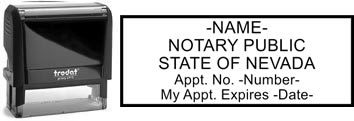 Nevada Notary Stamp | Order a Nevada Notary Public Stamp