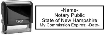 New Hampshire Notary Stamp | Order a New Hampshire Notary Public Stamp