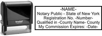 New York Notary Stamp | Order a New York State Notary Public Stamp