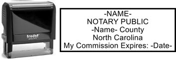 North Carolina Notary Stamp | Order a North Carolina Notary Public Stamp