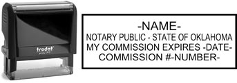 Oklahoma Notary Stamp | Order an Oklahoma Notary Public Stamp