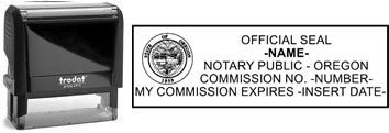 Oregon Notary Stamp | Order an Oregon Notary Public Stamp