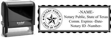 Texas Notary Stamp | Order a Texas Notary Public Stamp Online