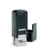 Trodat 4921 custom rubber stamp: Self-inking, medium quality.  Up to 20,000 impressions before needs re-inking.