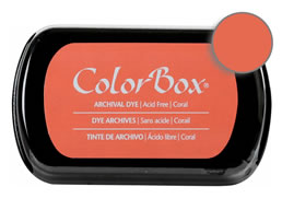 Colorbox Ink Archival Coral Pad