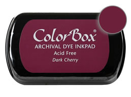 Colorbox Ink Archival Dark Cherry Pad