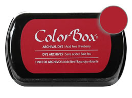 Colorbox Ink Archival Fireberry Pad