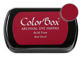 Colorbox Ink Archival Red Devil Pad