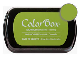 Colorbox Ink Archival Tree Frog Pad