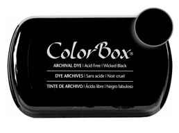 Colorbox Ink Archival Wicked Black Pad