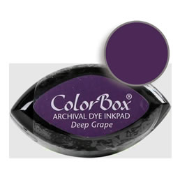 Colorbox Ink Archival Deep Grape Cat's Eye Pad