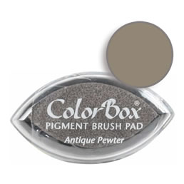 Colorbox Ink Pigment Antique Pewter Cat's Eye Pad