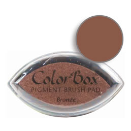 Colorbox Ink Pigment Bronze Cat's Eye Pad