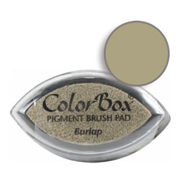 Colorbox Ink Pigment Burlap Cat's Eye Pad
