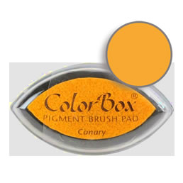 Colorbox Ink Pigment Canary Cat's Eye Pad