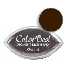 Colorbox Ink Pigment Chestnut Cat's Eye Pad