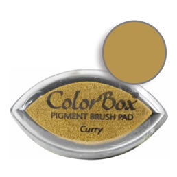 Colorbox Ink Pigment Curry Cat's Eye Pad