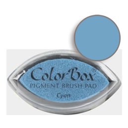 Colorbox Ink Pigment Cyan Cat's Eye Pad