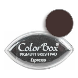 Colorbox Ink Pigment Espresso Cat's Eye Pad