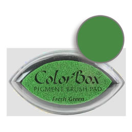 Colorbox Ink Pigment Fresh Green Cat's Eye Pad