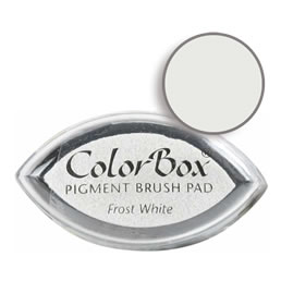 Colorbox Ink Pigment Frost White Cat's Eye Pad
